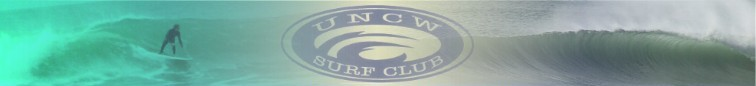 UNCW Surf Club banner image.